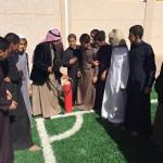 خطة اخلاء في ابتدائية عبدالرحمن الفيصل بالرياض
