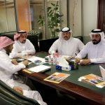 الإدارة العامة تعقد اجتماعاً مع مركر رعاية المستفيدين