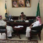 المشرف العام يلتقي بمدير إدارة الدراسات والأبحاث الزلزالية