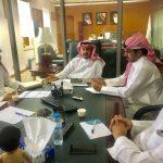 المشرف العام على الأمن والسلامة المدرسية يجتمع مع شركة تطوير للخدمات التعليمية