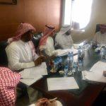 الدكتور ماجد الحربي يلتقي مسؤولي شركة تطوير للمباني
