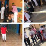 تفعيل الاسبوع التمهيدي للسلامة يابتدائية المحمدية بتعليم حفرالباطن