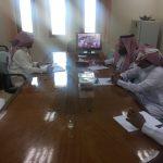 إدارة الأمن والسلامة المدرسية ب تعليم حفرالباطن تشارك في اللقاء الوزاري