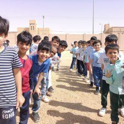 خطة إخلاء بمدرسة رقية بنت محمد المتوسطة بتعليم الأحساء