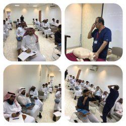 التسليم الابتدائي لمشروع صيانة تجهيزات السلامة في مدارس  محافظة المجمعة