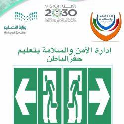 تعليم الجوف – تنفيذ مبادرة (اخمدها) في ثانوية الأمير عبدالإله بن عبدالعزيز للبنين بقطاع سكاكا