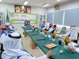 تعليم الجوف – اجتماع مدير ادارة الامن والسلامة المدرسية بمراقبي الامن والسلامة