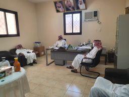 الاجتماع الثاني لإدارة الامن والسلامة المدرسية بتعليم المجمعة