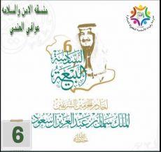 تعليم ينبع# مشاركة الاحتفاء بذكرى البيعة السادسة من مدرسة رفيدة الاسلمية للطفولة المبكرة