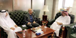 لقاء الدكتور أمين الوريدات كبير خبراء تفتيش منظمة العمل الدولية بمنسوبي ومنسوبات الإدارة العامة للأمن والسلامة
