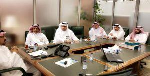 اجتماع الإدارة العامة للأمن والسلامة بمركز السلامة إدارة المخاطر والأزمات (سيف) – جامعة أم القرى