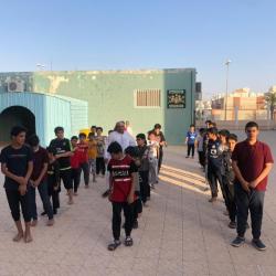 لليوم الرابع استمرار برنامج التدريب الصيفي (ممارس أمن وسلامة) بتعليم الدوادمي